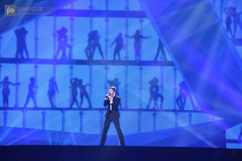 Litva: Donny Montell - Love is blind  (Foto: Alesh Maatko)
