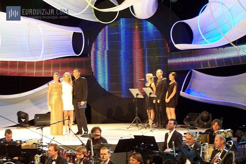 Razglasitev rezultatov in zmage Anike Horvat (Foto: Alesh Maatko)