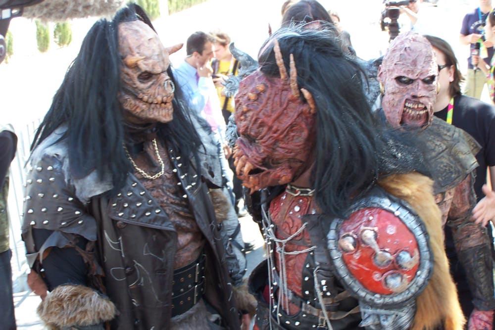 Lordi so mnogim pognali strah v kosti ... (Foto: Alesh Maatko)