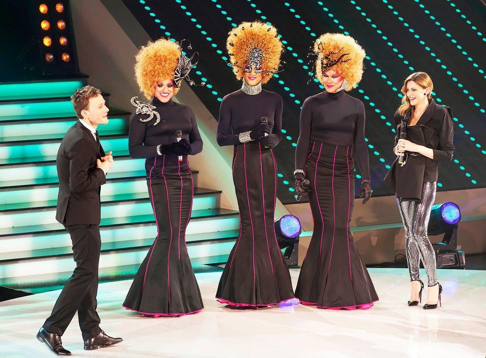 Sestre, Klemen Slakonja in Hannah (Foto: TV3 Medias)