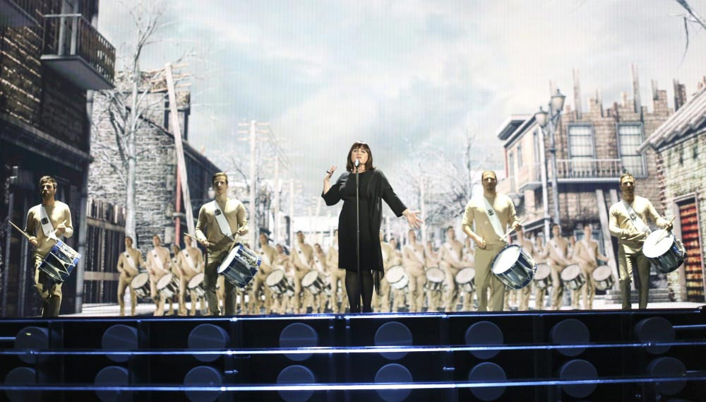 2. Francija: N'oubliez Pas – Lisa Angell (Foto: Thomas Hanses (EBU))