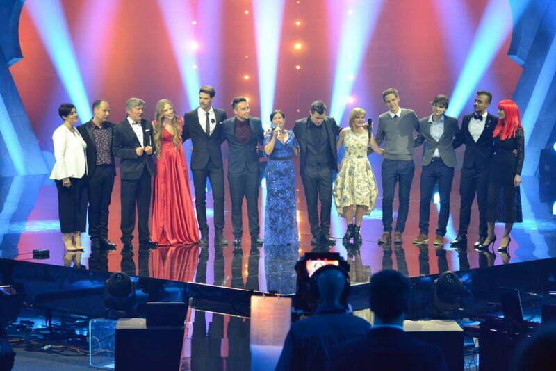 Šov program: Vsi nastopajoči, Privškove pesmi ... (Foto: Alesh Maatko)