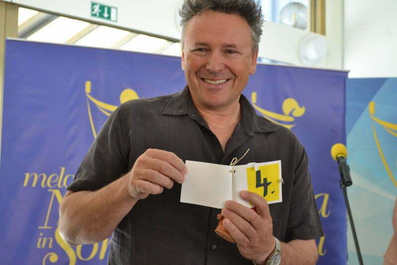 Igor Lija je ižrebal številko štiri (Foto: Alesh Maatko)