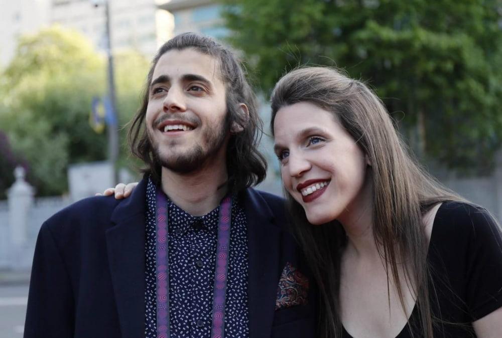Portugalska: Salvador Sobral s svojo sestro (Foto: Andres Putting)