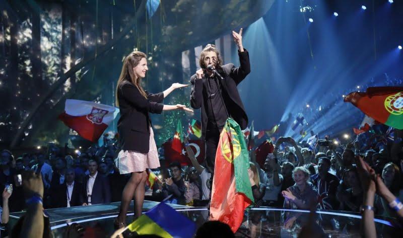 Na koncu je prepričal Portugalec Salvador Sobral. (Foto: Andres Putting)