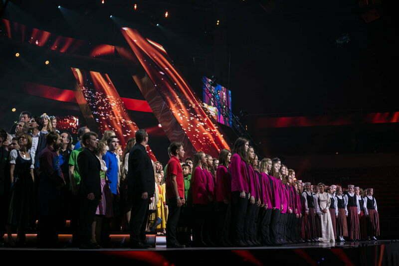 Razglasitev rezultatov ... (Foto: Ojārs Jansons in Reinis Rudzitis / EBU)