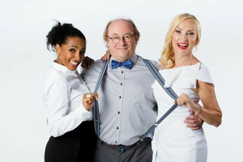 Strokovna žirija: Irena Yebuah Tiran, Gojmir Lešnjak in Tanja Ribič (Foto: POP TV)