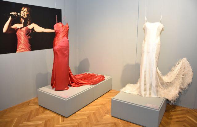 Razstava vidnejših oblek Nuše Derenda ... (Foto: Agencija Ekskluzivno)