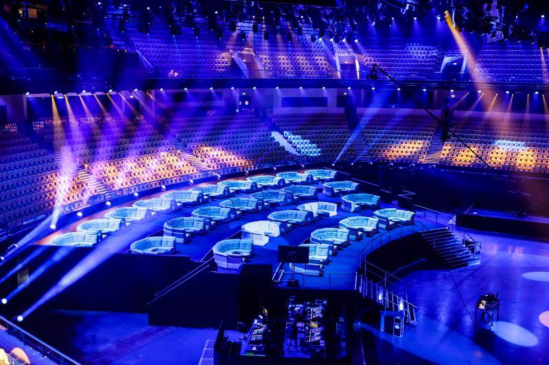 Evrovizijski oder 2018 je pripravljen ... (Foto: Thomas Hanses)