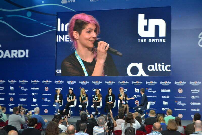 Lizbona 2018: Po vaji je sledila novinarska konferenca. (Foto: Alesh Maatko)