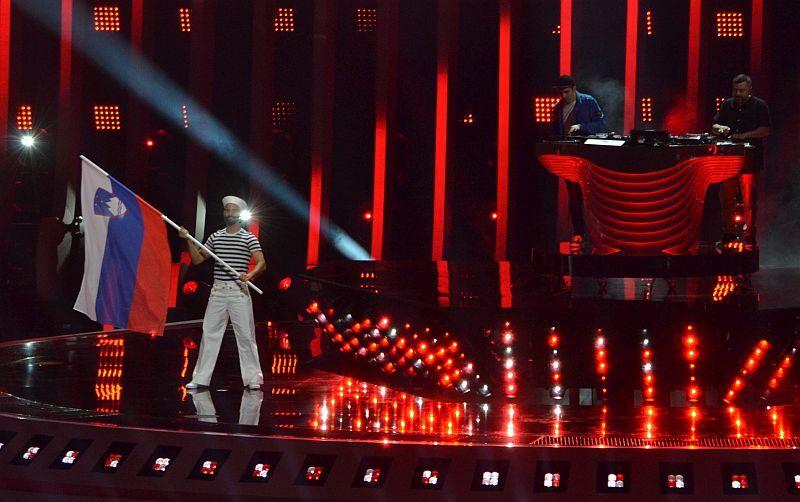 V sklepnem dejanju Pesmi Evrovizije 2018 je bila tudi Slovenija. (Foto: Alesh Maatko)