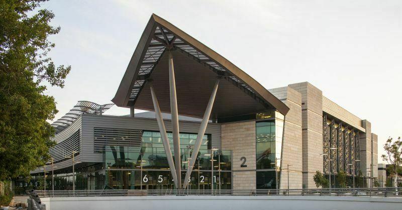 ESC izbor 2019 bo potekal v paviljonu 2. (Foto: Tel Aviv Convention Center / Amit Giron)