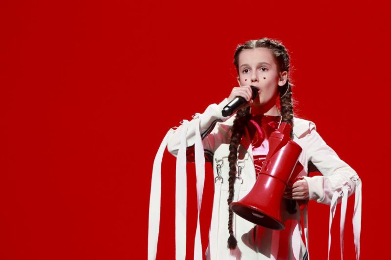 1. Ukrajina: Darina Krasnovetska - Say Love (Foto: Andres Putting )