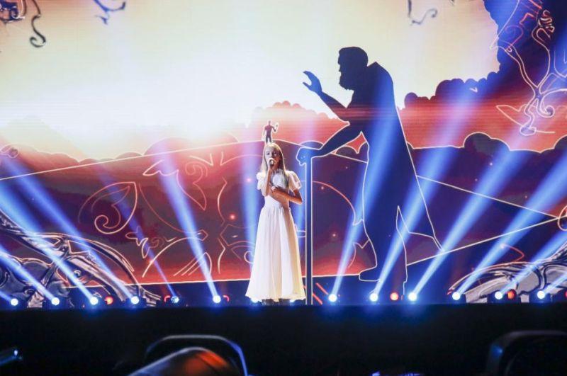 3. Kazakhstan: Daneliya Tuleshova - Өзіңе сен (Òzińe Sen) (Foto: Andres Putting)