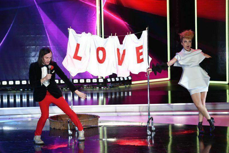 Beovizija 2019 (šov program): Laka in Mirela - Pokušaj (BIH ESC 2008). (Foto: RTS)