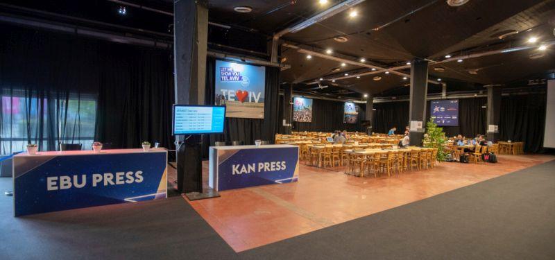 Kongresni center EXPO: ESC novinarsko središče (Foto: Andres Putting)