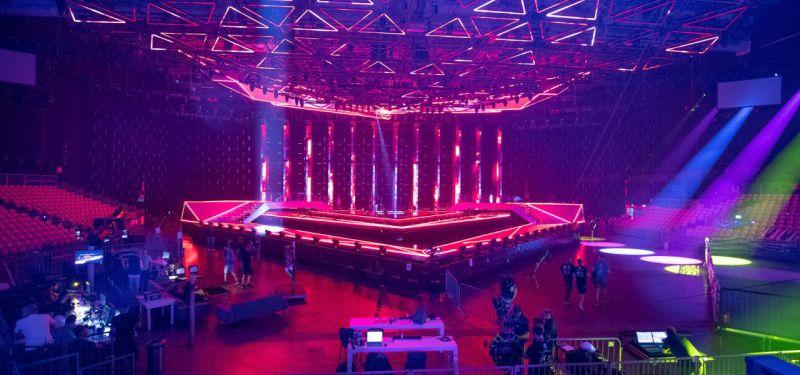 Kongresni center EXPO: Evrovizijska dvorana (Foto: Andres Putting)